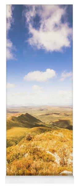 Vast Expanse Of Wonderful Countryside Yoga Mat