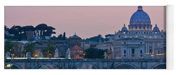 Vatican City At Sunset Yoga Mat