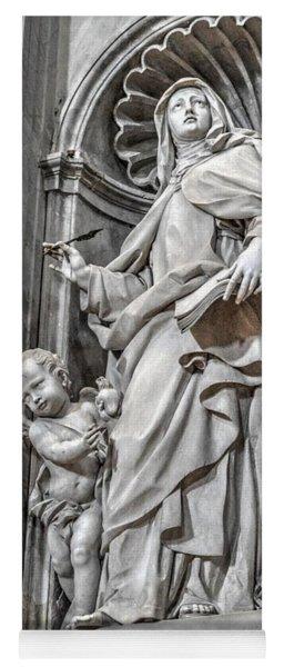 Vatican Statue Yoga Mat