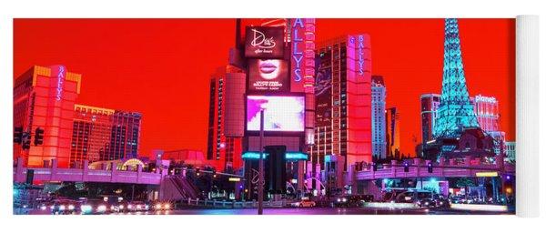 Vegas Funk Pop Art Yoga Mat