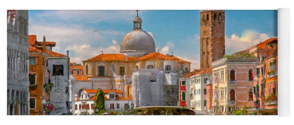 Venezia. Fermata San Marcuola Yoga Mat