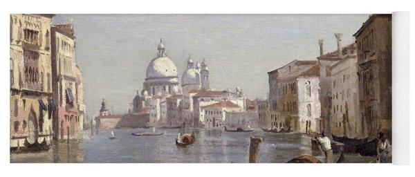 Venice - View Of Campo Della Carita Looking Towards The Dome Of The Salute Yoga Mat