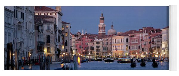 Venice Blue Hour 2 Yoga Mat