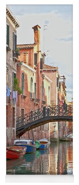 Venice Bridge Crossing 5 Yoga Mat