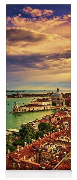 Venice From The Bell Tower Yoga Mat