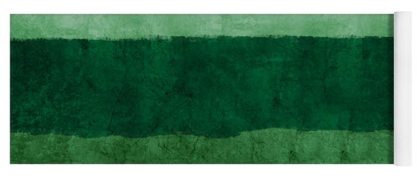 Verde Landscape 1- Art By Linda Woods Yoga Mat