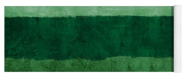 Verde Landscape 1- Art By Linda Woods Yoga Mat