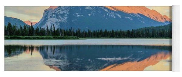 Vermillion Lakes Yoga Mat