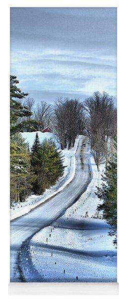 Vermont Country Landscape Yoga Mat