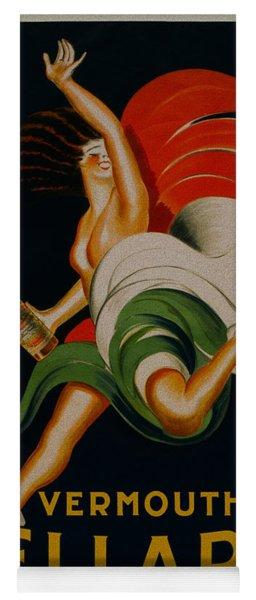 Vermouth Bellardi Torino Vintage Poster Yoga Mat