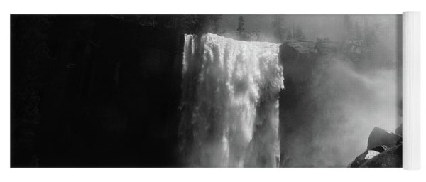 Vernal Fall And Mist Trail Yoga Mat