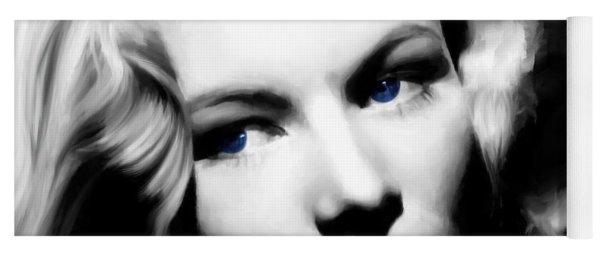 Veronica Lake Portrait #1 Yoga Mat