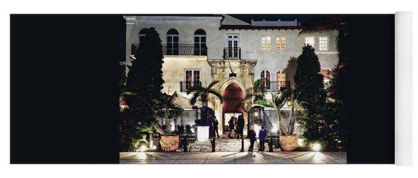 Versace Mansion South Beach Yoga Mat