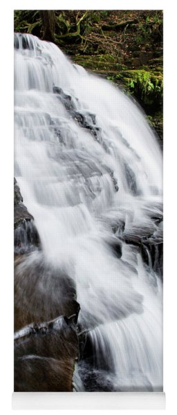 Mountain Waterfall Yoga Mat