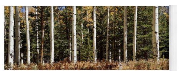 Vibrancy Of Autumn II Yoga Mat