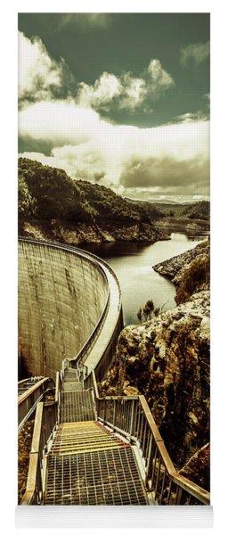 Vibrant River Dam Yoga Mat