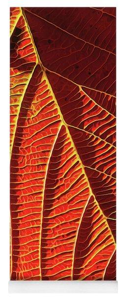 Vibrant Viburnum Yoga Mat