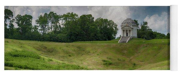 Vicksburg National Military Park - Illinois Memorial Yoga Mat