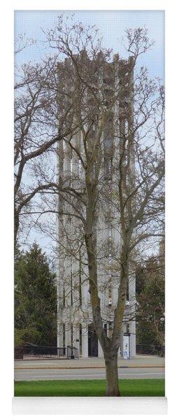 Victoria British Columbia Cariillon Tower Yoga Mat
