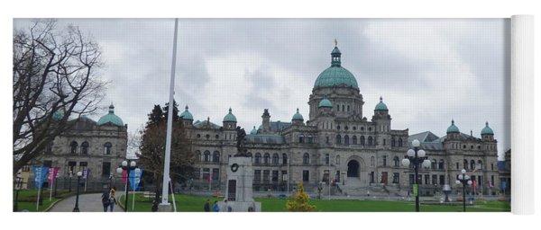 Victoria British Columbia Parliament Building Yoga Mat