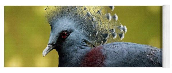 Victoria Crowned Pigeon Yoga Mat