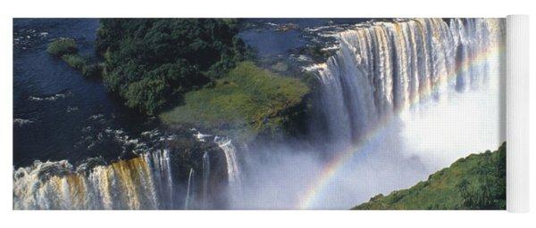 Victoria Falls Rainbow Yoga Mat