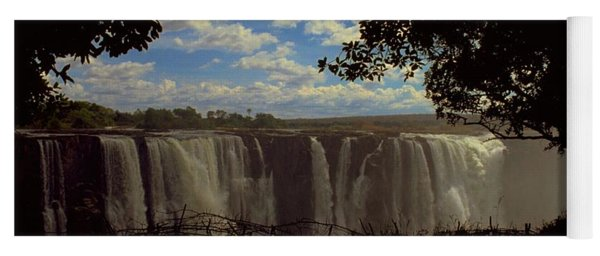 Yoga Mat featuring the photograph Victoria Falls, Zimbabwe by Travel Pics