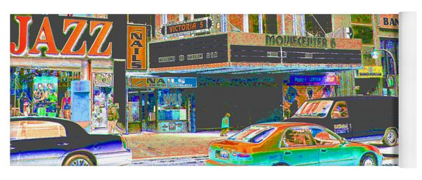 Victoria Theater 125th St Nyc Yoga Mat