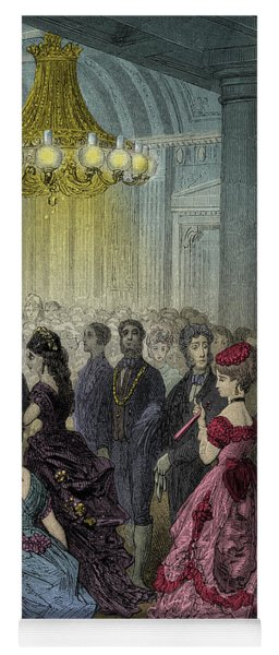 Victorian Ball By Gustave Dore Yoga Mat