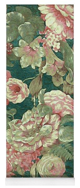 Victorian Garden Yoga Mat