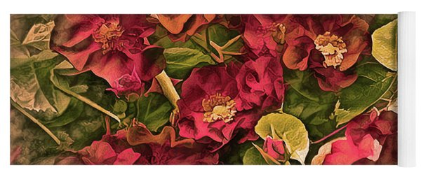 Victorian Rose Delight 14 Yoga Mat