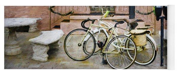 Victoria's Bicycles Yoga Mat