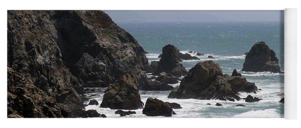 View From Bodega Head In Bodega Bay Ca - 4 Yoga Mat