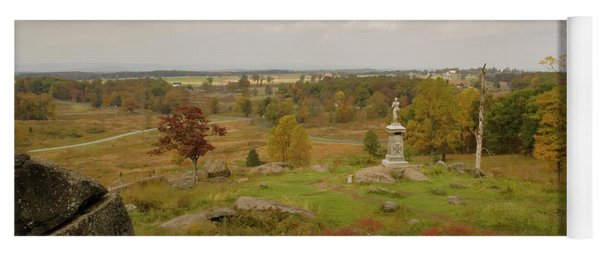 View From Little Round Top 2 Yoga Mat