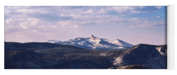 Yoga Mat featuring the photograph View From May Lake by Sharon Seaward