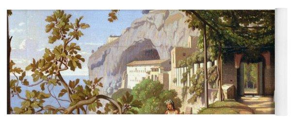 View Of Capri Yoga Mat