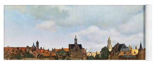 View Of Delft Yoga Mat