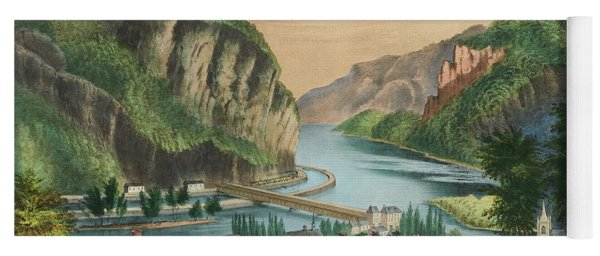 View Of Harpers Ferry, Virginia Yoga Mat