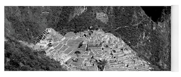 View Of Machu Picchu From The Inca Trail Yoga Mat