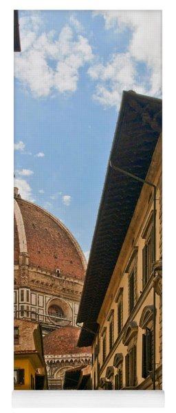 View Of The Duomo Yoga Mat