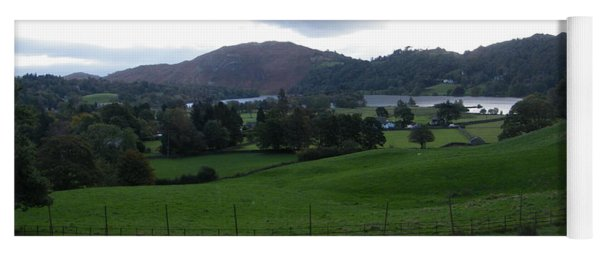 View Of The Lakes Yoga Mat
