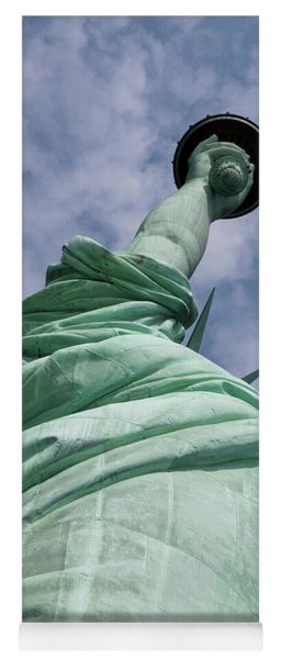 View Of The Statue Of Liberty Yoga Mat