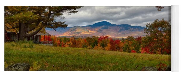 View Of The White Mountains Yoga Mat
