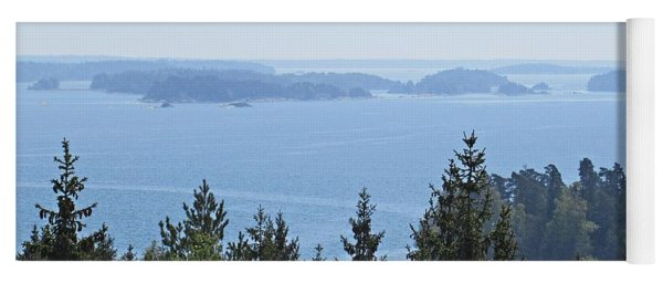 View On The Archipelago Near Trosa Yoga Mat