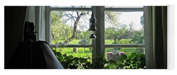 View To The Garden Yoga Mat
