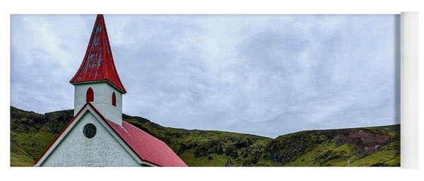 Vik Church And Cemetery - Iceland Yoga Mat
