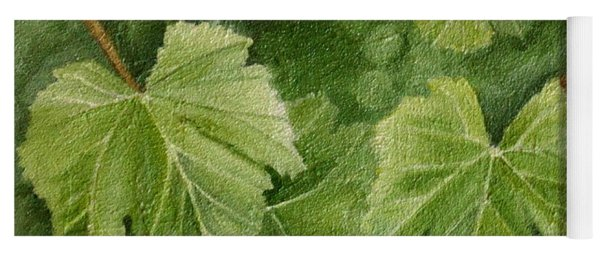 Vine Leaves Yoga Mat