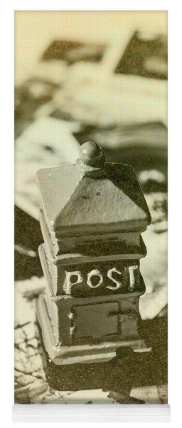 Vintage Australian Postage Art Yoga Mat
