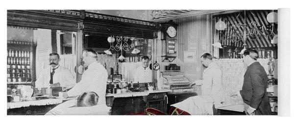Vintage Barbershop 4 Yoga Mat