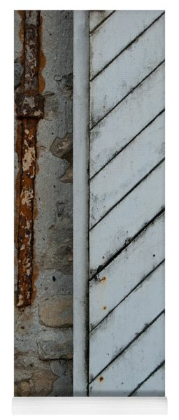 Vintage Barn Door And Strap Yoga Mat